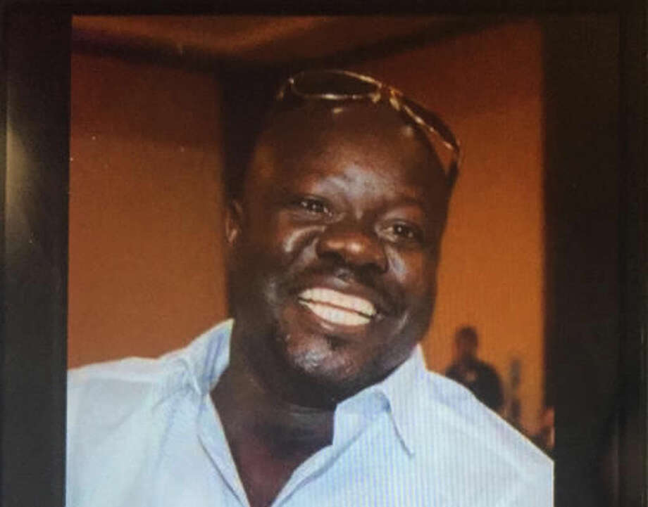"""This undated cellphone photo released by Dan Gilleon, the attorney for the family of Alfred Olango, shows Alfred Olango, the Ugandan refugee killed Tuesday, Sept. 27, 2016, in El Cajon, Calif. The fatal police shooting of Olango, who drew something from his pocket and extended his hands in a """"shooting stance"""" happened about a minute after officers in a San Diego suburb arrived at the scene where a mentally unstable man was reportedly walking in traffic, a police spokesman said Wednesday. (Olango Family via AP)"""