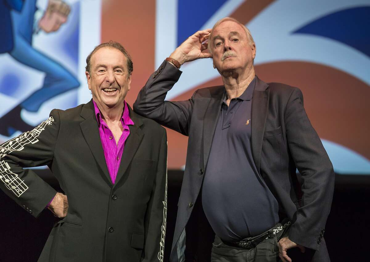 """Eric Idle and John Cleese reunite for """"Together Again At Last... For The Very Last Time,"""" which comes to the Golden Gate Theater from Nov. 2-4."""