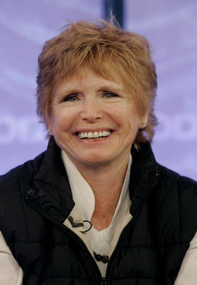 "In this Feb. 26, 2008 file photo, Bonnie Franklin, of the 1970's sitcom ""One Day at a Time, "" appears with the reunited cast on the the NBC ""Today"" television program in New York. Franklin has been diagnosed with pancreatic cancer, her family said in a statement released by CBS on Monday, Sept. 24, 2012. (AP Photo/Richard Drew, File)"