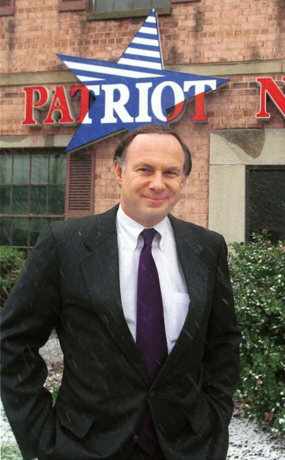 """Charles Howell president and CEO of Patriot National Bank, says """" The real estate market in Fairfield County is coming back,.  Dru Nadler/photo Photo: DRU NADLER, ST / SCNI"""