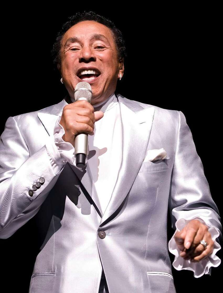 Hundreds attend the Dana's Angels Research Trust benefit, with headliner Smokey Robinson, at the Palace Theatre in Stamford, Friday May 14, 2010. Proceeds will benefit research for Neimann-Pick Type C disease. Smokey Robinson performs for the crowd.