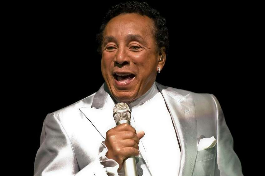 Smokey Robinson performs for the crowd during the Dana's Angels Research Trust benefit at the Palace Theatre in Stamford, Friday May 14, 2010. Proceeds will benefit research for Neimann-Pick Type C disease.