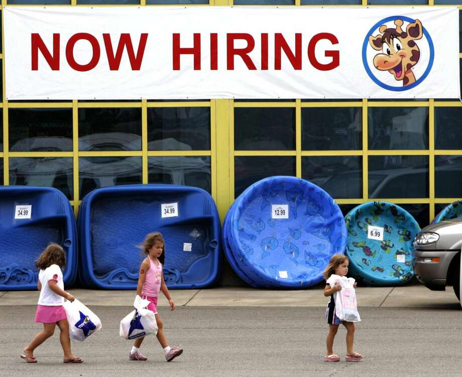 This Monday, July 25, 2005, file photo, shows a Toys R Us store in Robinson Twp., Pa. (AP Photo/Amy Sancetta, File)