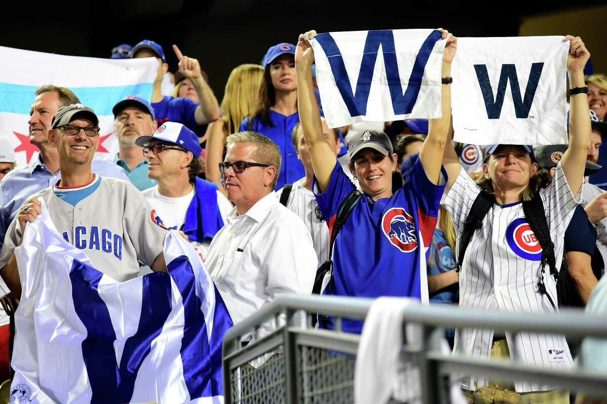 Chicago fans left Wrigley Field for Southern California and Dodger Stadium, where the Cubs continued their quest to reach the World Series with an 8-4 win Thursday and a 3-2 series lead. The Cubs haven't won a World Series since 1908.