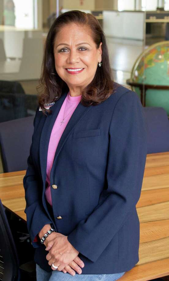 Silvia Trevino is a candidate for Harris County Constable, Precint 6 shown Monday August 22, 2016. (JeremyCarter/ Houston Chronicle) Assignment ID: 00068545O