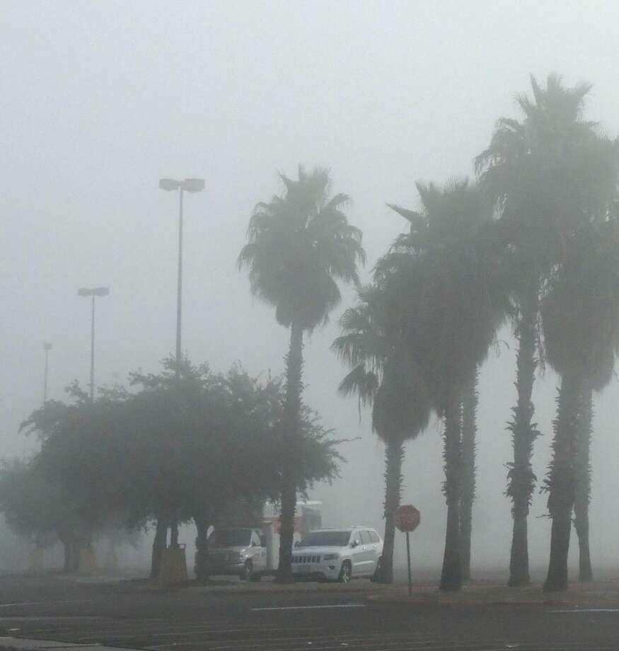 Visibility was less than half a mile as dense fog covered the area early Monday morning. The forecast calls for high temperatures of 82 to 88 degrees through Thursday when a cold front sweeps through the area bringing colder temperatures for Friday and the weekend. (Photo by: Cuate Santos