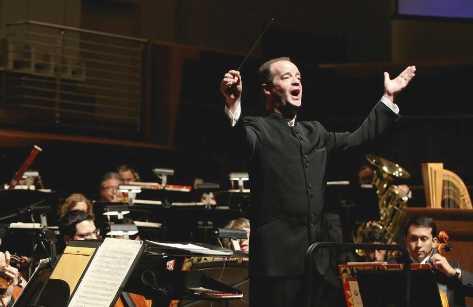 In this Sept. 29, 2013 file photo, conductor Brendan Townsend leads the Laredo Philharmonic Orchestra during its 34th Season Opening at TAMIU's recital hall. The LPO's 35th season starts Sunday. (Photo by Victor Strife/Laredo Morning Times)
