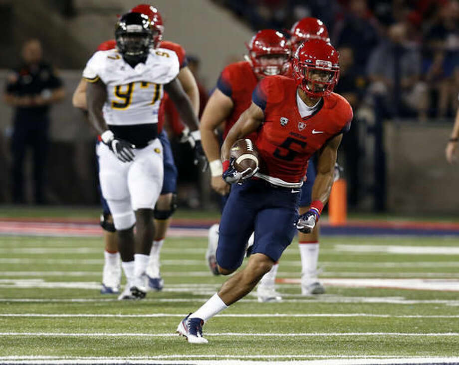 The Colts signed wide receiver Trey Griffey to an undrafted free agent deal on Sunday, according to ESPN.