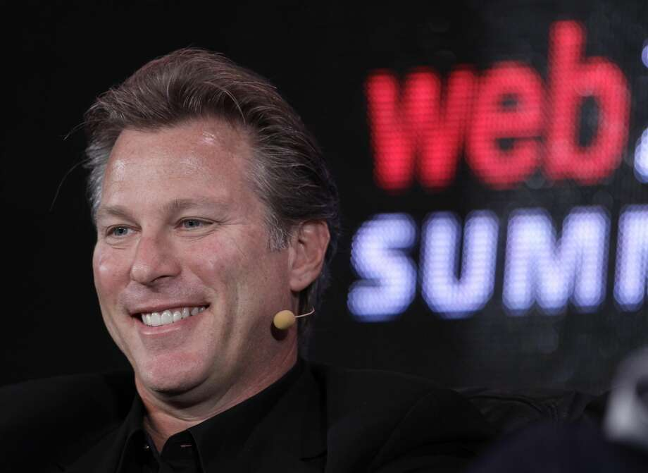 In this Oct. 17, 2011 photo, Ross Levinsohn, Yahoo Executive Vice President of Americas, speaks at the Web. 2.0 Summit in San Francisco. Yahoo's restless shareholders let interim CEO Ross Levinsohn know that they won't give him much time to turn the company around if he gets the job on a permanent basis at Yahoo's annual shareholders meeting Thursday. July 12, 2012.(AP Photo/Paul Sakuma, File)
