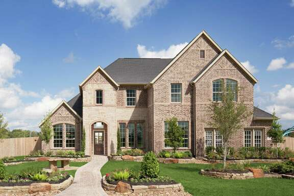 Plantation Homes is one of the builders in Dellrose, northwest of Houston. Empire Continental Land, the Texas land division for Empire Communities of Canada, is developing Dellrose.