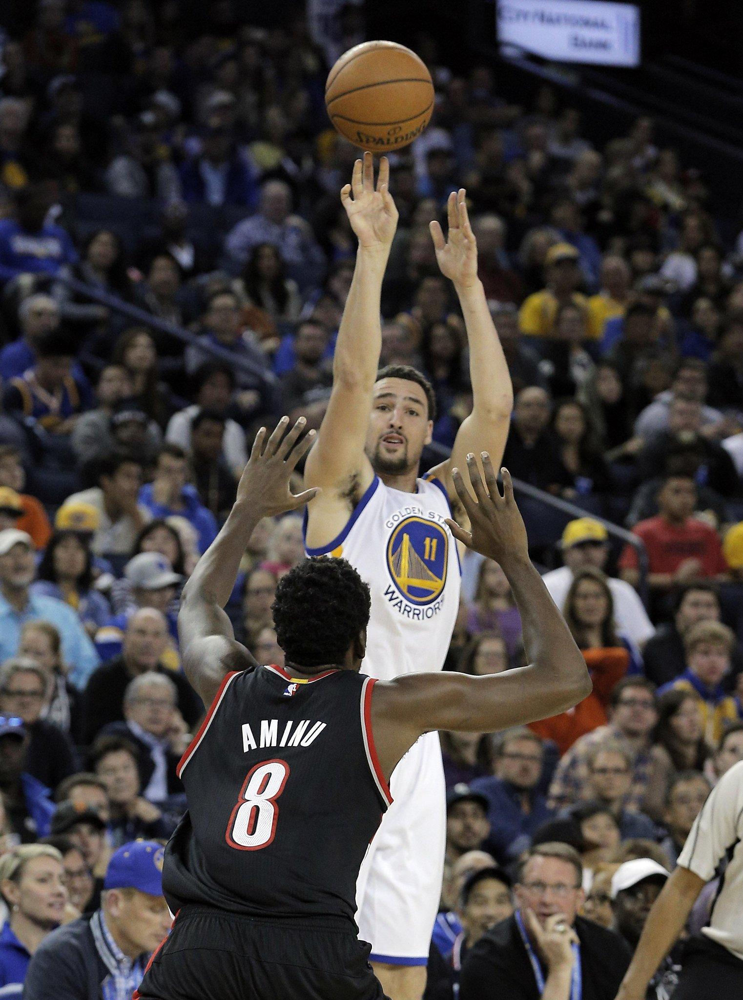 Warriors' Kerr: No Klay Thompson trade - SFGate