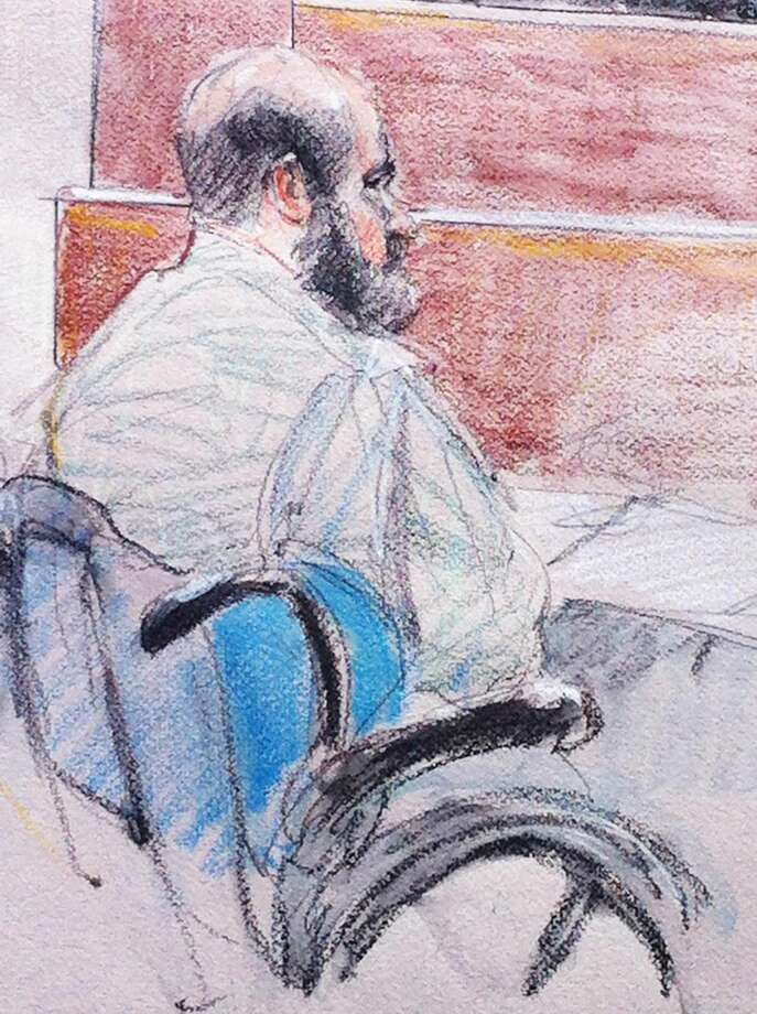"In this courtroom sketch, U.S. Army Maj. Nidal Hasan sits in the courtroom during a hearing at Fort Hood, Texas, Tuesday, June 11, 2013. (AP Photo/Brigitte Woosley)Judge enters not guilty plea for Fort Hood suspectFORT HOOD — A military judge has entered a not-guilty plea for the Army psychiatrist charged in the deadly 2009 Fort Hood shooting rampage.Maj. Nidal Hasan refused to enter a plea Tuesday. The American-born Muslim said he earlier tried to plead guilty after his ""Muslim community"" told him his actions went against Islamic teachings. But he said he later came to believe his actions weren't wrong because of the war in Afghanistan.Hasan, 42, faces execution or life without parole if convicted of 13 counts of premeditated murder and 32 counts of attempted premeditated murder in the massacre on the Texas Army post."