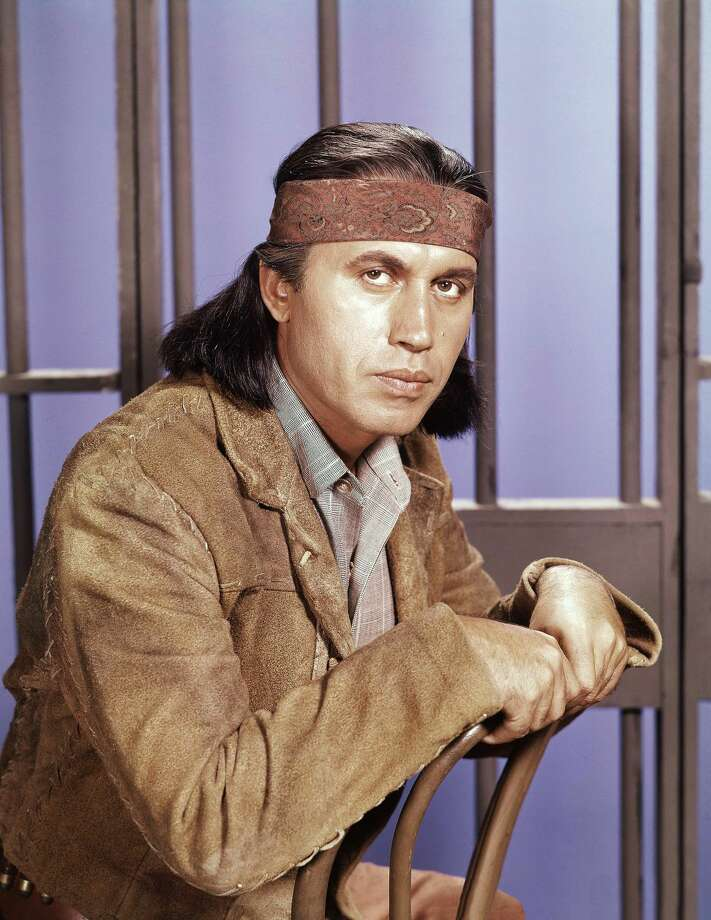 "This 1960 photo shows actor Michael Ansara on location for the TV series, ""Law of the Plainsman."" A longtime friend and spokesman for Ansara says the actor died Wednesday, July 31, 2013, at his home in California after a long illness. He was 91. (AP Photo, File)"