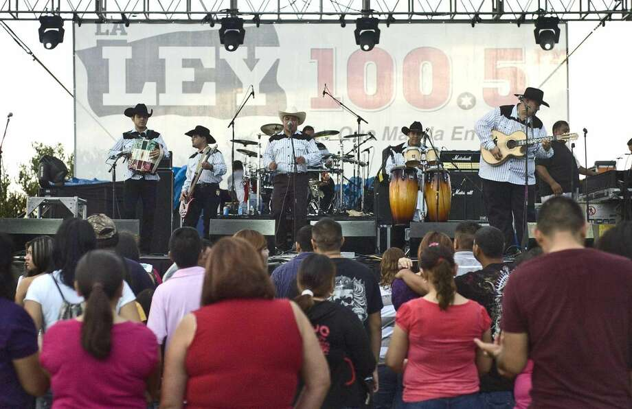 Grupo Inalcansable performs during the 2012 AutMus Fest at TAMIU. (Ulysses S. Romero, File/Laredo Morning Times)