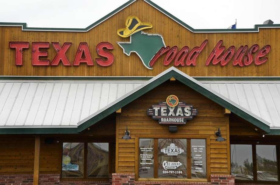 The exterior of Texas Roadhouse is shown April 16. (Danny Zaragoza/Laredo Morning Times)