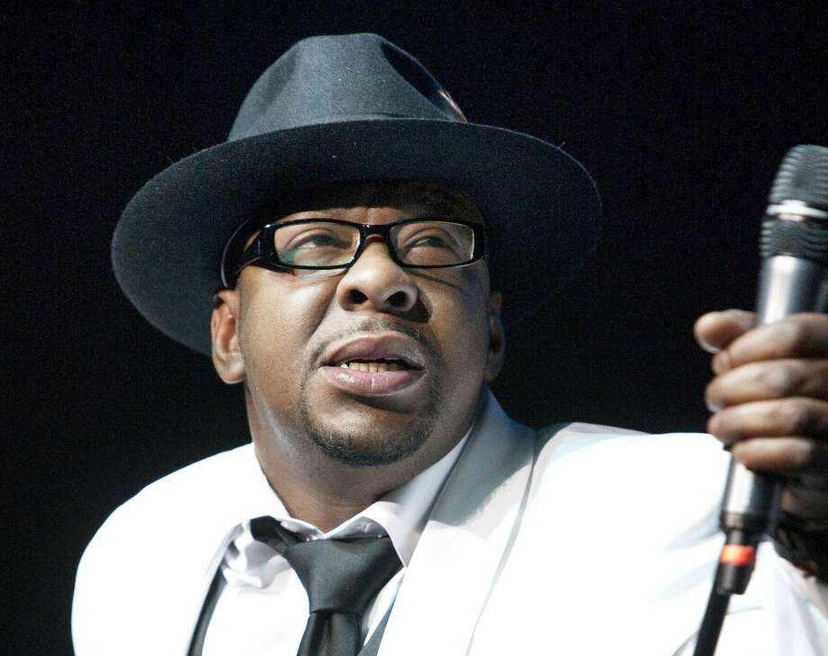 In this Feb. 18, 2012 file photo, singer Bobby Brown, former husband of the late Whitney Houston performs at Mohegan Sun Casino in Uncasville, Conn. Brown is scheduled to turn himself in today, March 20,2013 to begin serving a 55-day jail sentence for DUI. (AP Photo/Joe Giblin, File)