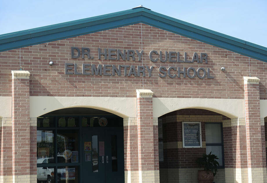 Cuellar Elementary School was put on a 45-minute lockdown on Monday after reports of an armed individual outside of the school, according to a spokesperson for UISD.