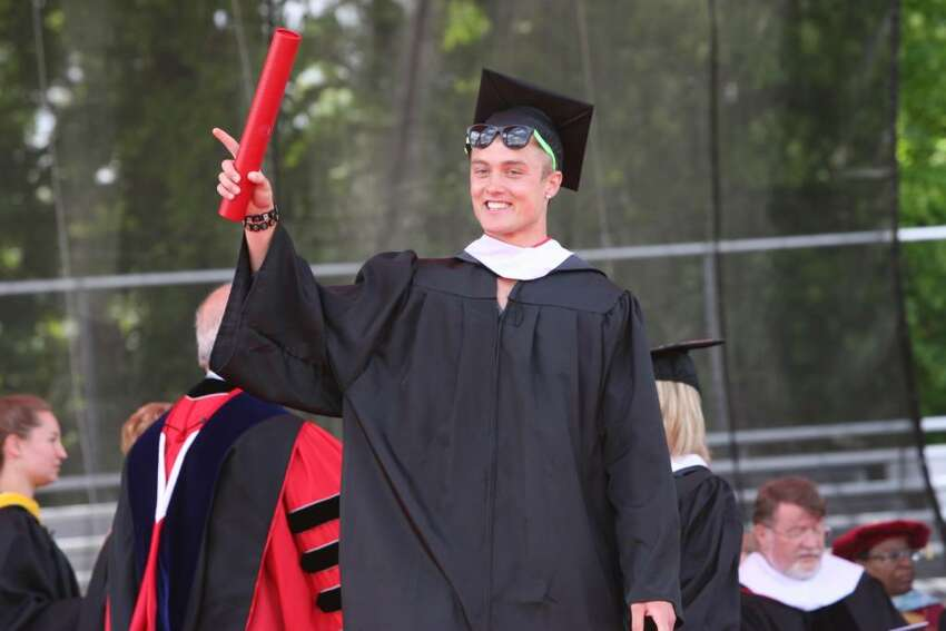 Sacred Heart University holds commencement on Sunday, May 16, 2010.