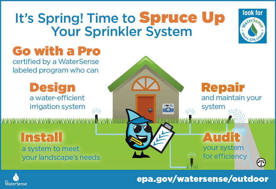 Find a pro certified by a WaterSense labeled program to help make your sprinkler system smarter and save water outdoors! (NAPS)