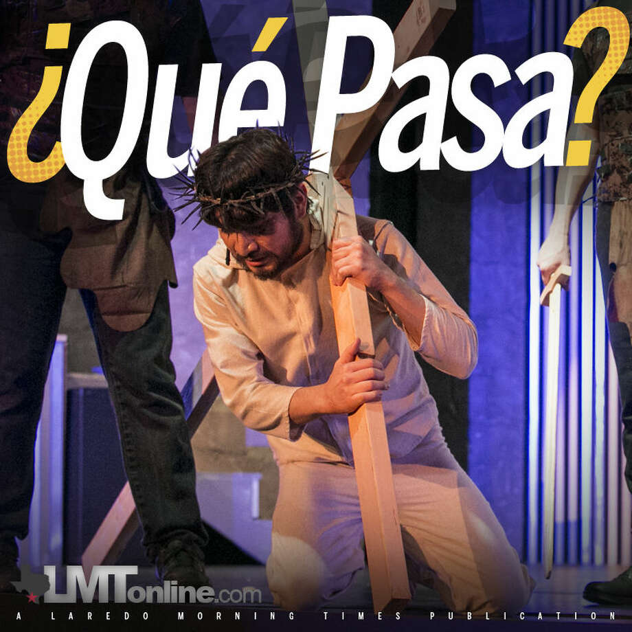 Ariel Sauceda portrays Jesus Christ during the Laredo Little Theatre's performance of Jesus Christ Superstar.