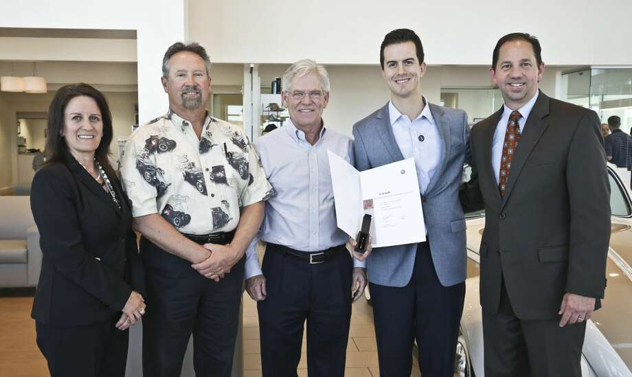 Volkswagen Of Laredo Was Recently Presented With The Gold Pin Award From Vw Headquarters Based