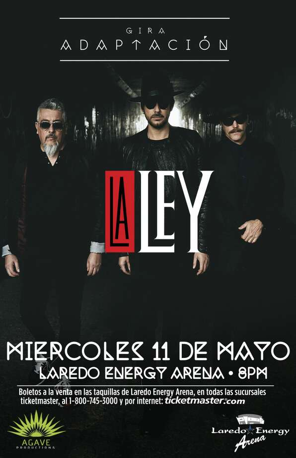 Chilean band La Ley coming to Laredo this spring