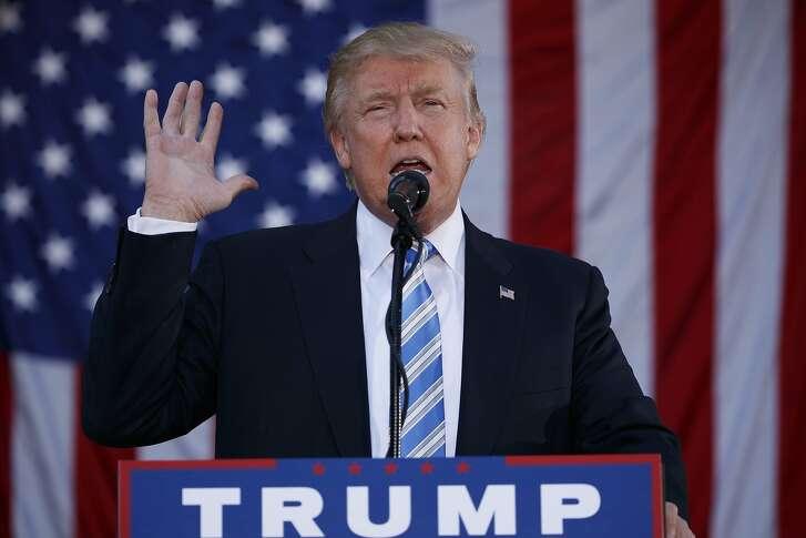 Republican presidential candidate Donald Trump speaks during a campaign rally at Regent University, Saturday, Oct. 22, 2016, in Virginia Beach, Va. (AP Photo/ Evan Vucci)