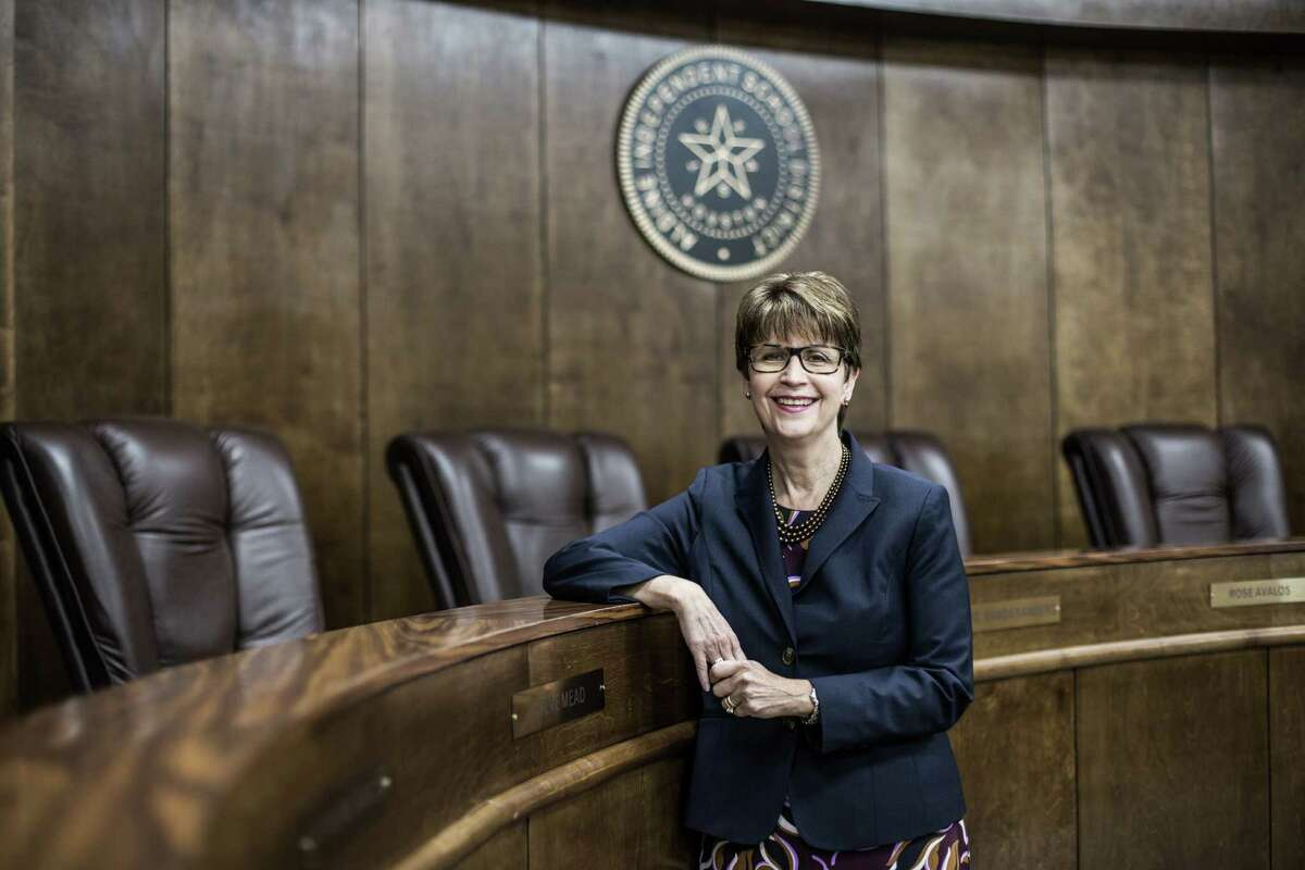 Wanda Bamberg, who has led the Aldine Independent School District for almost a decade, said she always felt as though she and other women were treated the same as men throughout the district and in front of the school board. Bamberg is one of only seven women superintendents in the Houston metro area's 39 districts.