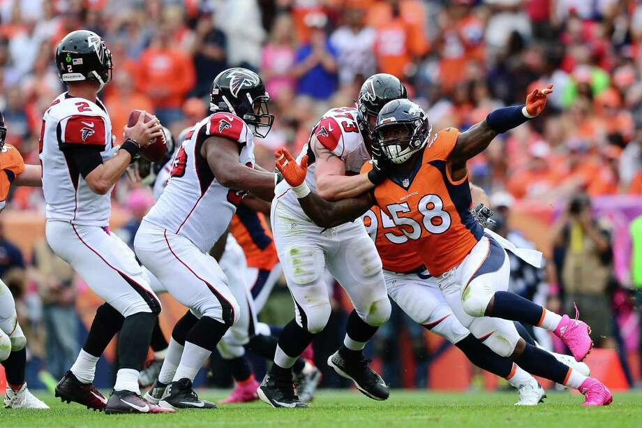 As the perfect capper to last season, Broncos outside linebacker Von Miller, right, became only the 10th defensive player in NFL history to be named Super Bowl MVP. Photo: Dustin Bradford, Stringer / 2016 Getty Images