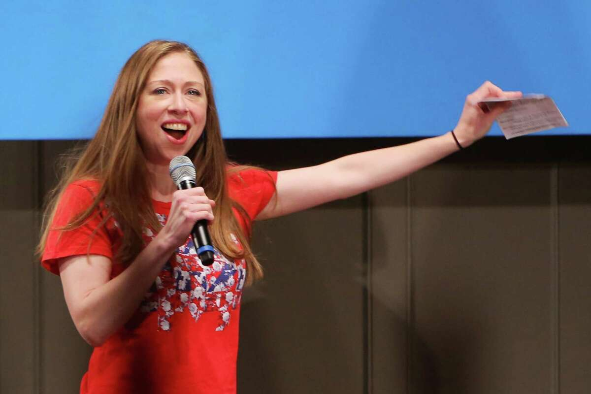 Chelsea Clinton speaks at a Get Out the Vote rally at Seattle Town Hall. The Democrats ran a Seattle-centric campaign and lost contested Legislative races in Pierce County, Clark County, Cowlitz and Grays Harbor Counties, and Island County.