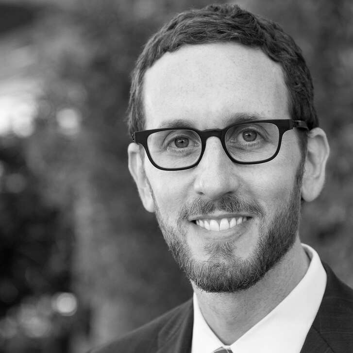 Supervisor Scott Wiener. ( Portrait used for Homelessness Project: local political CANDIDATES offer their take on HOMELESSNESS in the SF Bay Area)