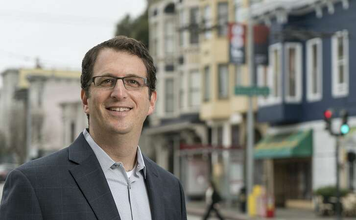 Dean Preston, Candidate for San Francisco Board of Supervisors, District 5. ( Portrait used for Homelessness Project: local political CANDIDATES offer their take on HOMELESSNESS in the SF Bay Area)