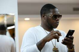 Rapper Z-Ro is seen at the grand opening at Paul Wall's grillz store, Johnny Dang & Co., Saturday, Oct. 22, 2016, in Houston. (Yi-Chin Lee / Houston Chronicle )