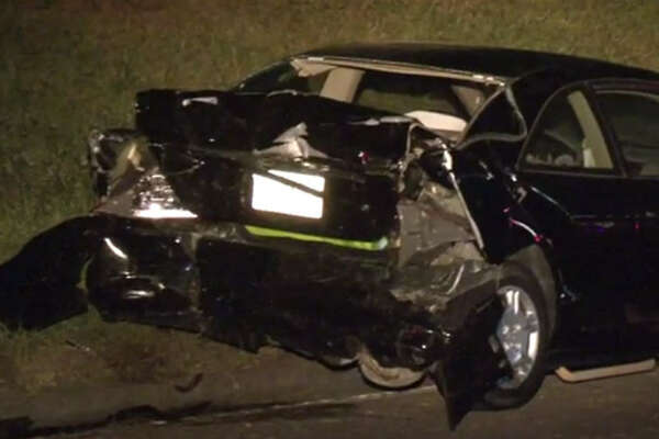 One woman is dead after a head-on crash on Katy Freeway in the early hours of Sunday morning.