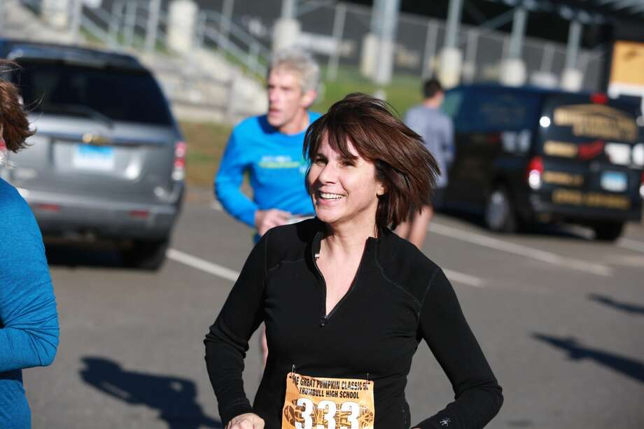 Trumbull's 26th annual Great Pumpkin Classic walk/run was held at Trumbull High School on October 23, 2016. The event raises money for Trumbull High School student scholarships. Were you SEEN? Photo: Derek Sterling/ Hearst CT Media