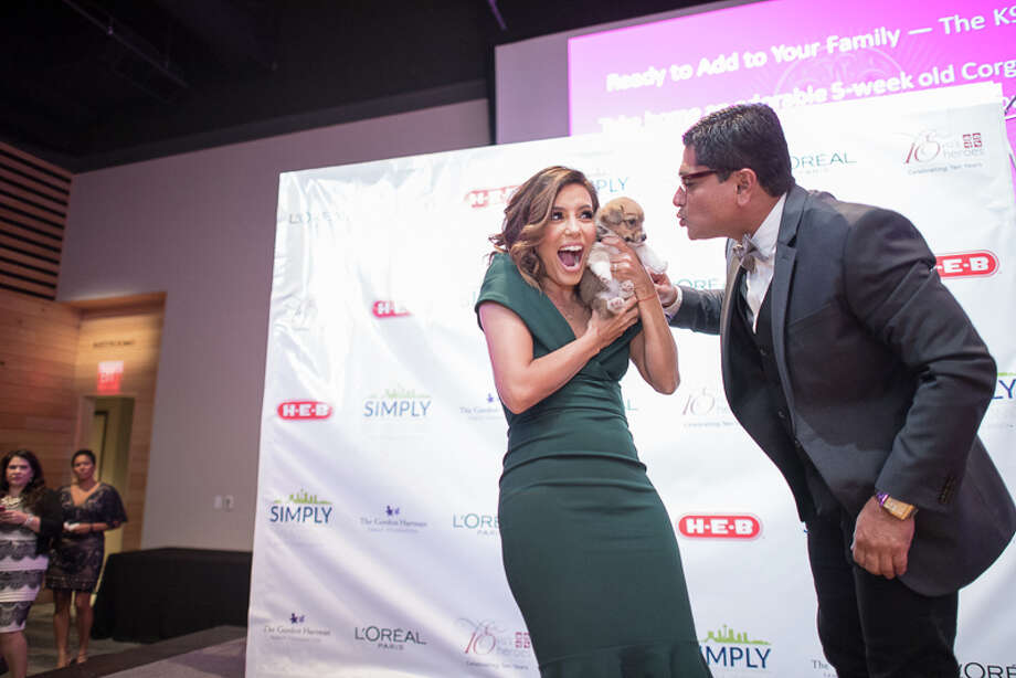 Area celebrities and anybody who is anybody in the Alamo City were at the Witte Museum Saturday night, Oct. 22, 2016, for Eva's Heroes 10th anniversary Celebrity Casino Night. Eva Longoria's organization seeks to help people with intellectual special needs. Photo: By Chavis Barron, For MySA