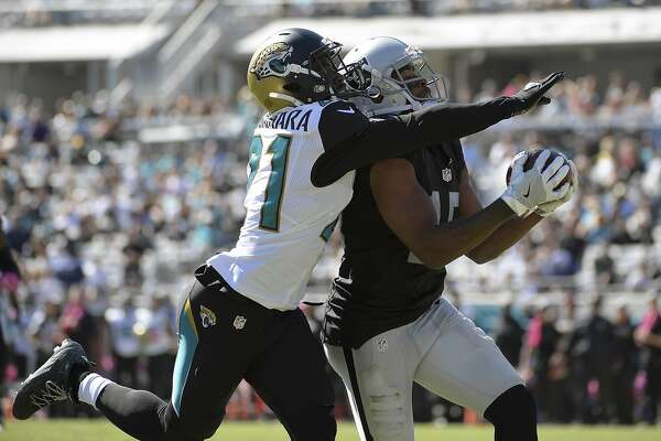 Michael Crabtree's contribution to Raiders too big for words