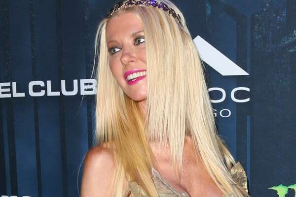 Actress Tara Reid attends Maxim Magazine's annual Halloween party on October 22, 2016 in Los Angeles.