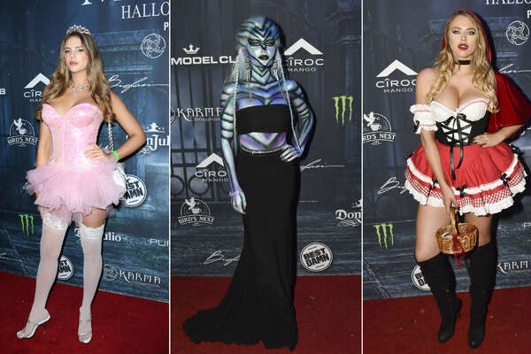 Celebrities attend the Maxim Halloween 2016 in Los Angeles.