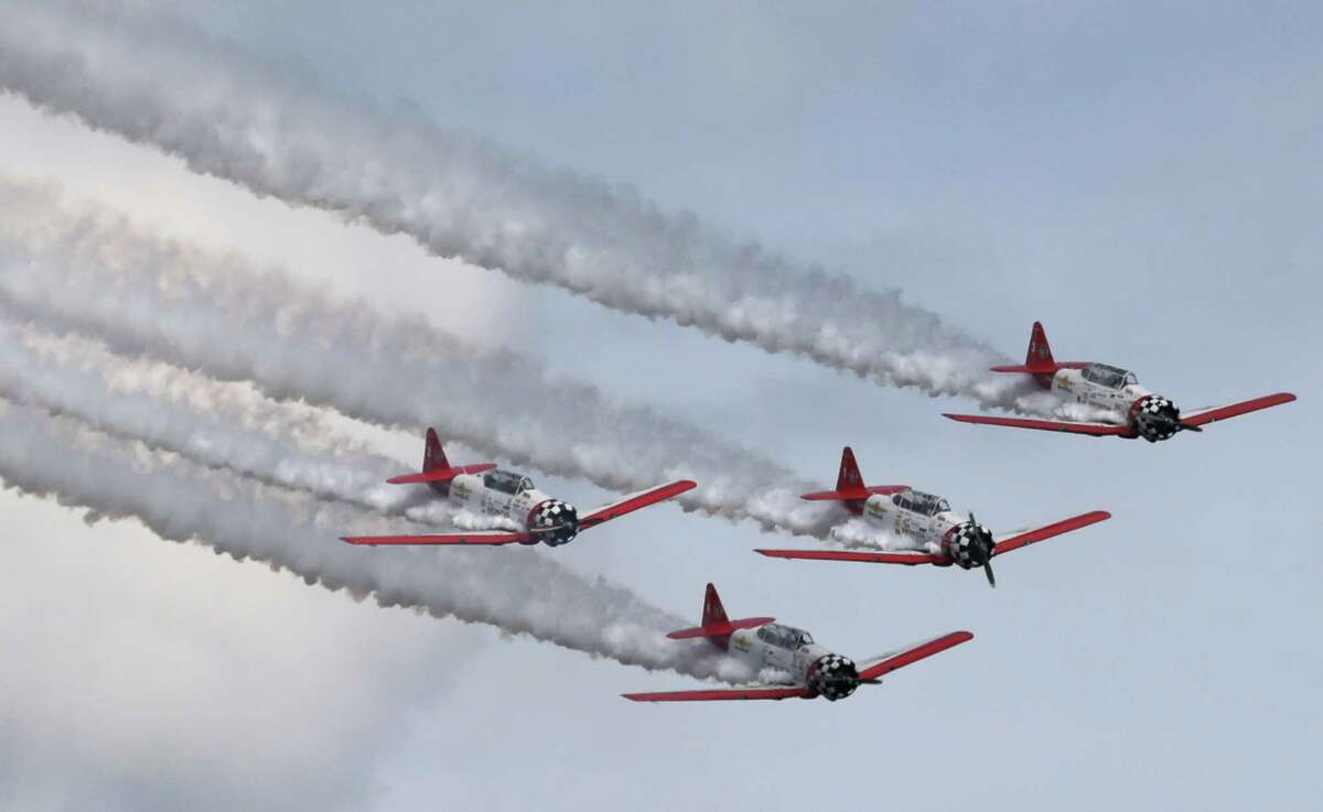 Photos of Wings Over Houston Air Show at Ellington Airport on Sunday, Oct. 23, 2016, in Houston.