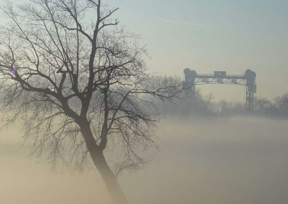 Some residents wandered into a cloud of vinyl chloride gas, thinking it was fog, after a train derailed in New Jersey, near Philadelphia International Airport, in 2012. Photo: National Transportation Safety Board