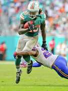 Dolphins running back Jay Ajayi tied an NFL record with his second consecutive 200-yard rushing performance.