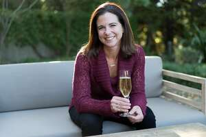 J Vineyards winemaker Nicole Hitchcock poses for a photograph at J Vineyards in Healdsburg, Calif. on Friday, Oct. 21, 2016.