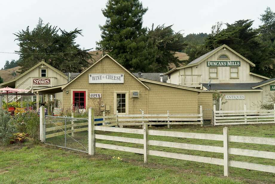 Sophie's Cellars is seen in Duncan Mills, Calif. on Saturday, Oct. 22, 2016. Duncan Mills features a cluster of small shops including a winery and a tea shop. Photo: James Tensuan, Special To The Chronicle