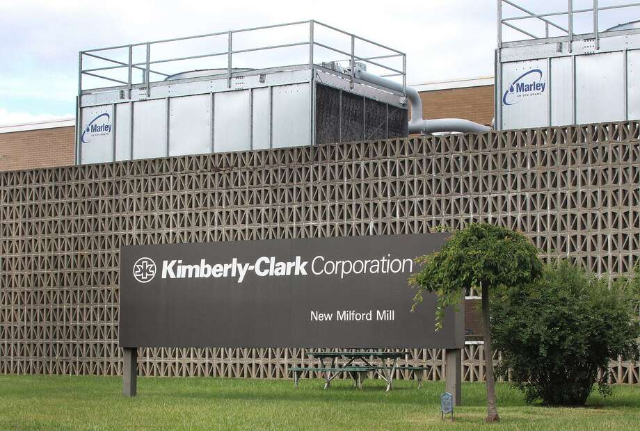 The Kimberly Clark manufacturing facility in New Milford, Conn., July 11, 2016. Photo: Chris Bosak / Hearst Connecticut Media