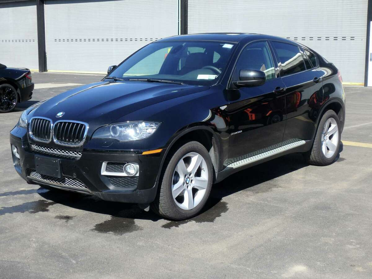 This 2014 BMW X6 is listed for auction by the Office of General Services. It was seized by the Attorney General?'s Office in 2014 following an investigation into a $9.9 million Medicaid fraud case in the Bronx. Proceeds from the sale of the two cars will be transferred to the Attorney General?'s Medicaid Fraud Unit. The auction scheduled to start at 9:30 a.m. Wednesday, Nov. 2 at the Harriman State Office Building Campus in Albany. Items being sold will be available for inspection starting at 8 a.m. on the day of the auction. (OGS)