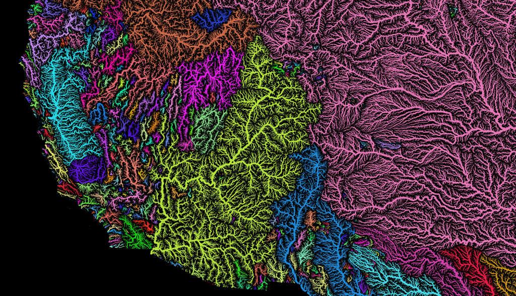 U S River Basins Created By Robert Szucs Photo Robert Szucs