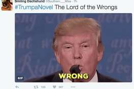 Twitter users gave their favorite book titles a Donald Trump twist and assigned the hashtag #TrumpANovel to their tweets.