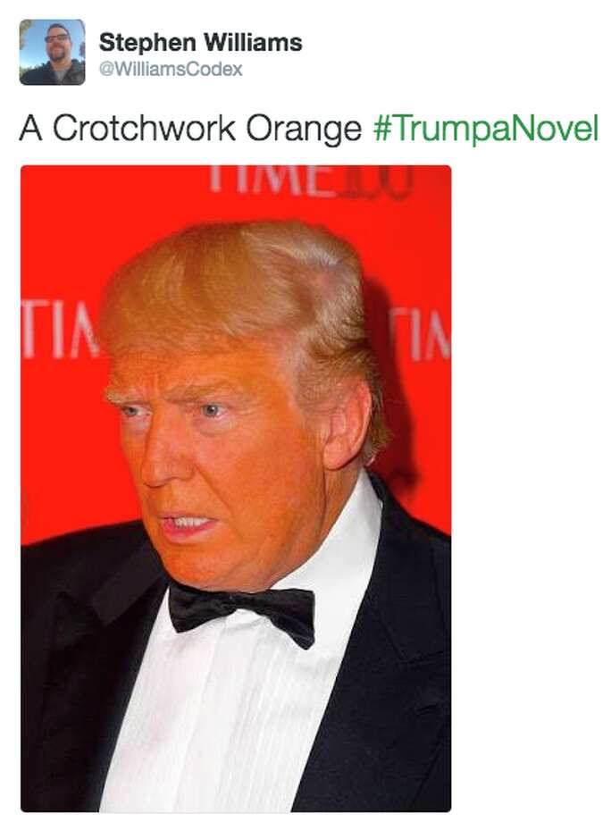 Twitter users give favorite book titles the donald trump for Donald trump favorite books