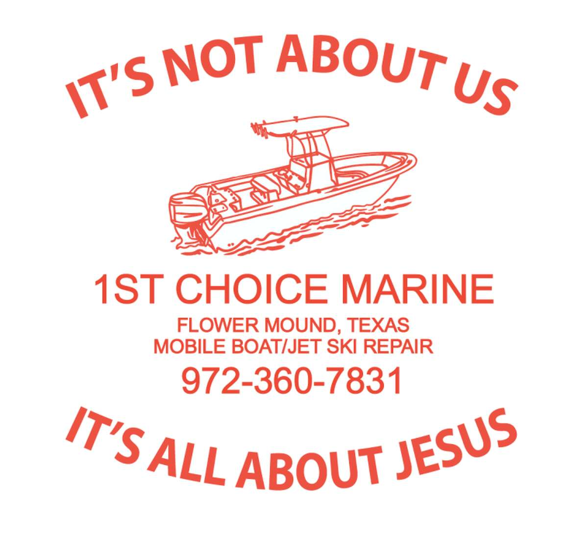 A Texas high school was recently threatened with legal action after refusing to accept a company's religious logo on their fishing team's jersey. Click through to see companies that are intensely religious.